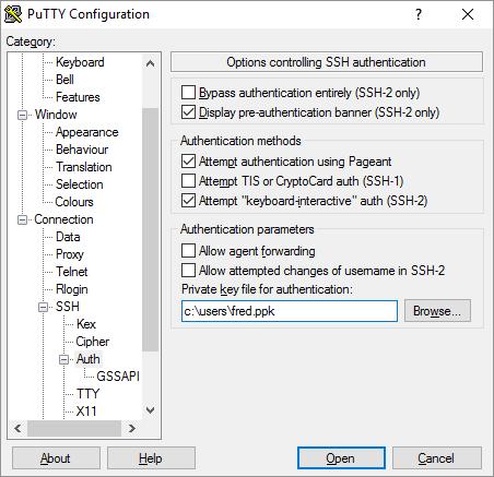AWS Amazon Linux Putty SSH Key Authorization