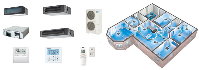 Panasonic Ducted HVAC Comfort Cloud Setup